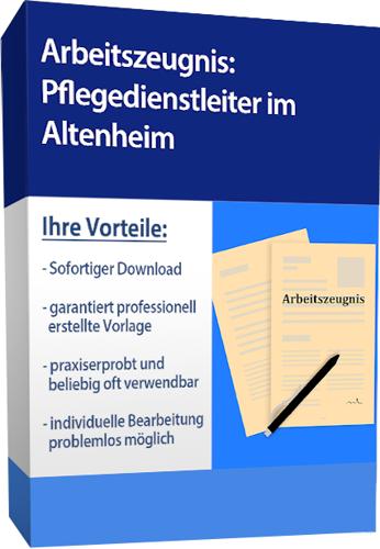 Zwischenzeugnis (sehr gut) - Pflegedienstleiterin (Altenheim)