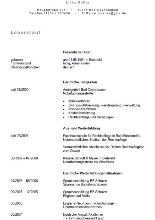 Bewerbung - Lehrer/in - Pflegewissenschaft (Seiteneinsteiger)
