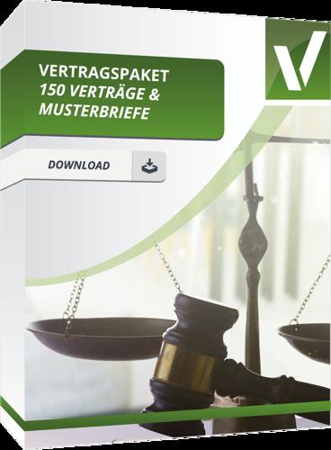 Das große Rechtspaket - 150 Verträge und Musterbriefe
