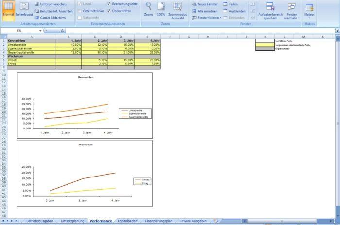 Finanzplanungstool-MS-Excel (Mac und PC)