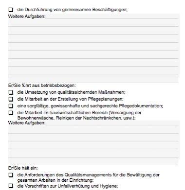 Stellenbeschreibung - Pflegeauszubildende/r
