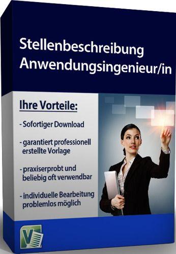 Stellenbeschreibung - Anwendungsingenieur/in