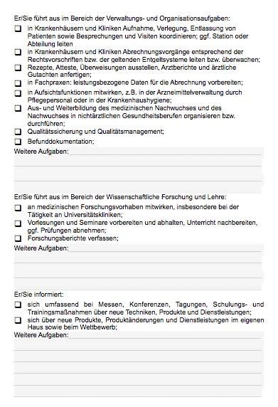 Stellenbeschreibung - Facharzt/in