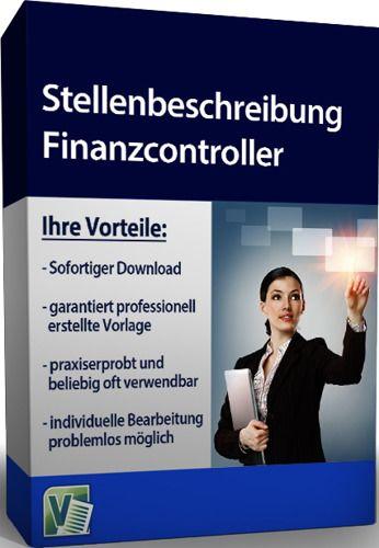 Stellenbeschreibung - Finanzcontroller