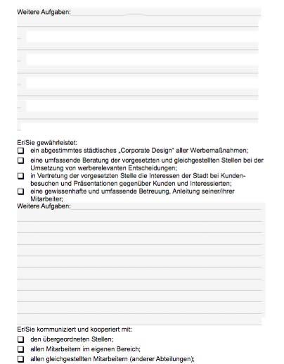 Stellenbeschreibung - Geschäftsführer/in Stadtmarketing