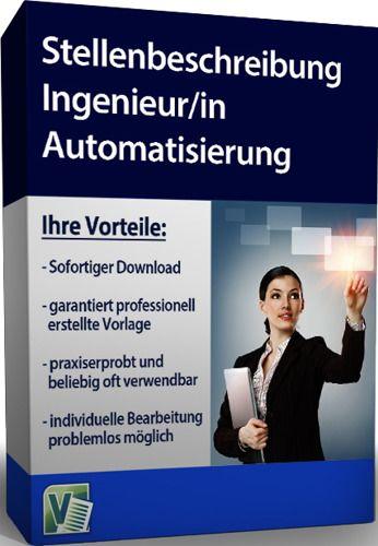 Stellenbeschreibung - Ingenieur/in Automatisierung