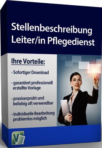 Stellenbeschreibung - Leiter/in Pflegedienst