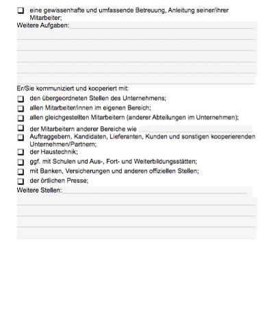 Stellenbeschreibung - Personalleiter/in