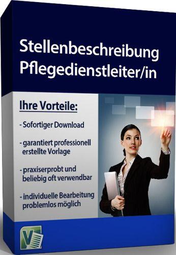 Stellenbeschreibung - Pflegedienstleiter/in