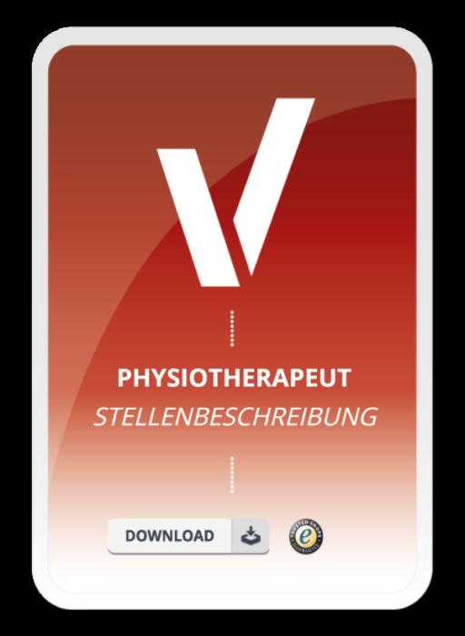 Stellenbeschreibung - Physiotherapeut/in