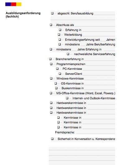 Stellenbeschreibung - Produktionsmitarbeiter/in