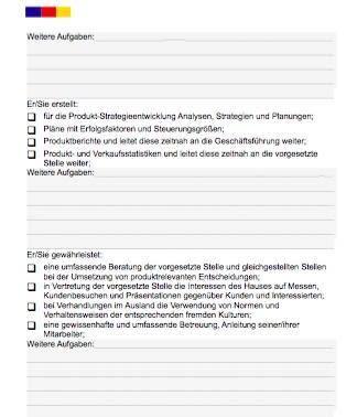 Stellenbeschreibung - Produktmanager/in