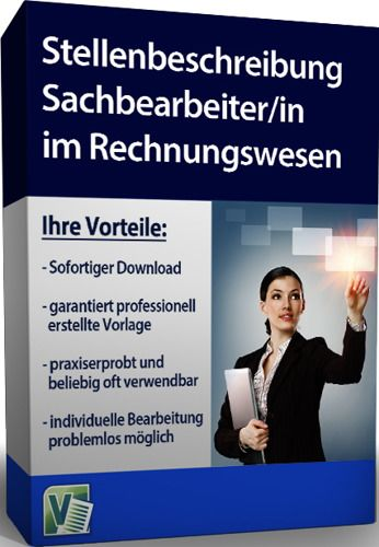 Stellenbeschreibung - Sachbearbeiter/in im Rechnungswesen
