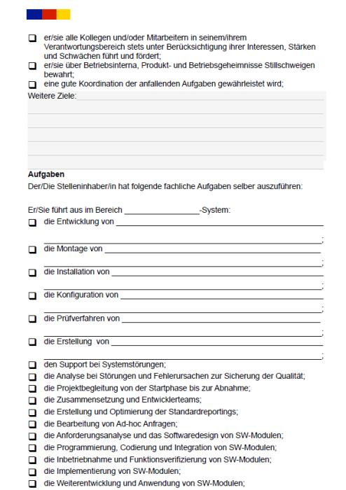 Stellenbeschreibung - Systemingenieur/in