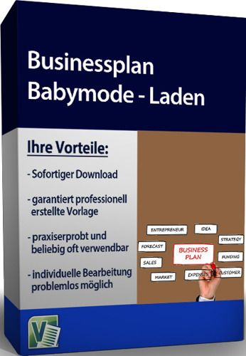 Businessplan - Babymode - Laden