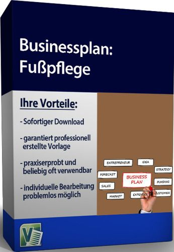 Businessplan - Fußpflege
