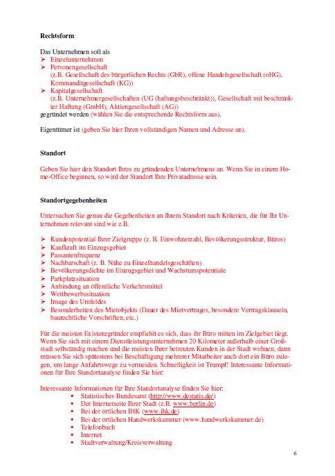 101 Geschäftsideen mit Muster-Businessplan und -Finanzplan