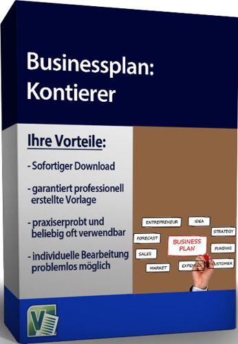 Businessplan - Kontierer