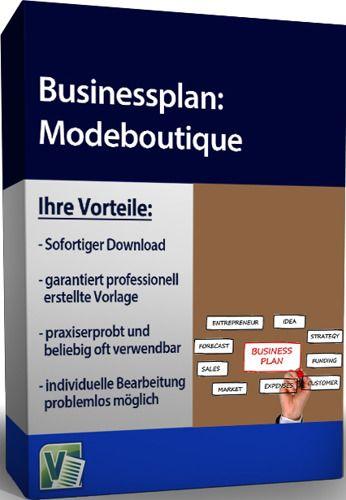 Businessplan - Modeboutique