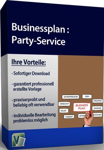 Businessplan - Party-Service