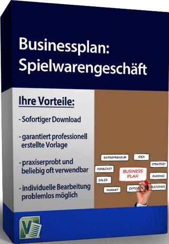 Businessplan - Spielwarengeschäft