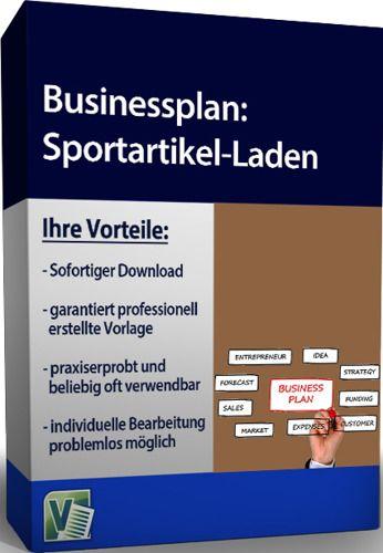 Businessplan - Sportartikel-Laden