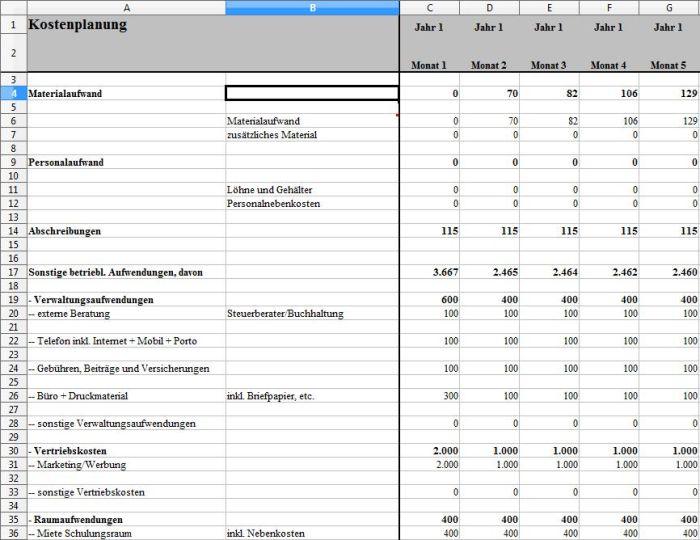 Businessplan - Sprachschule