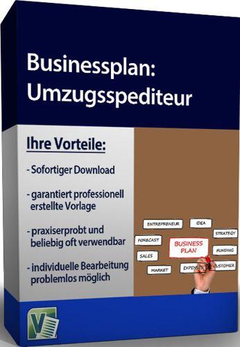 Businessplan - Umzugsspediteur