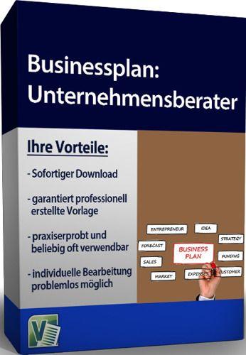 Businessplan - Unternehmensberater