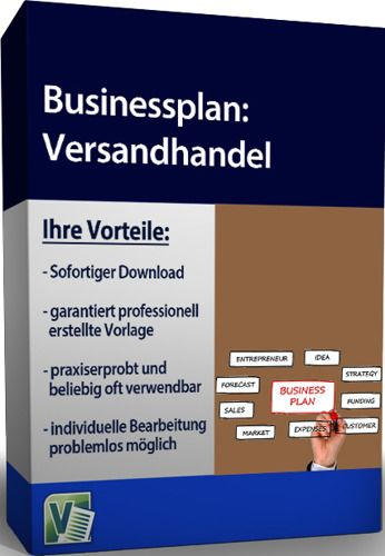 Businessplan - Versandhandel