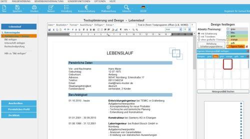 Bewerbungssoftware - Bewerbungsmaster 2021 (Vollversion)