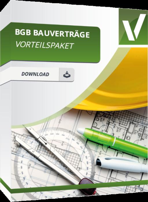 Vorteilspaket - BGB Bauverträge