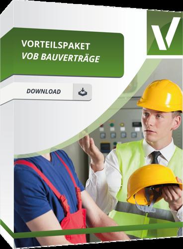 Vorteilspaket - VOB Bauverträge