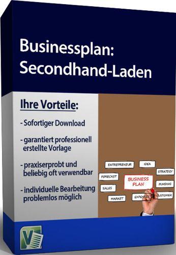 Businessplan - Secondhand-Laden