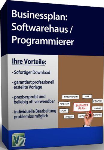Businessplan Softwarehaus / Programmierer