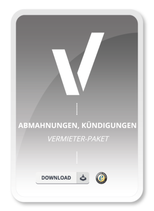 Vermieter-Paket - Abmahnungen/Kündigungen - 45 Muster