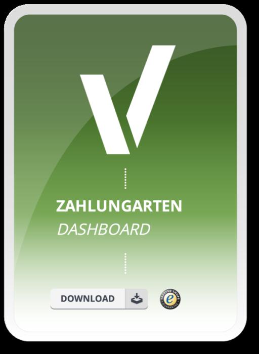 Zahlungsarten Dashboard
