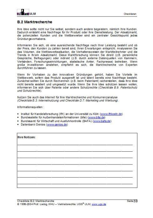 Vorteilspaket Checklisten - Gründungsplanung