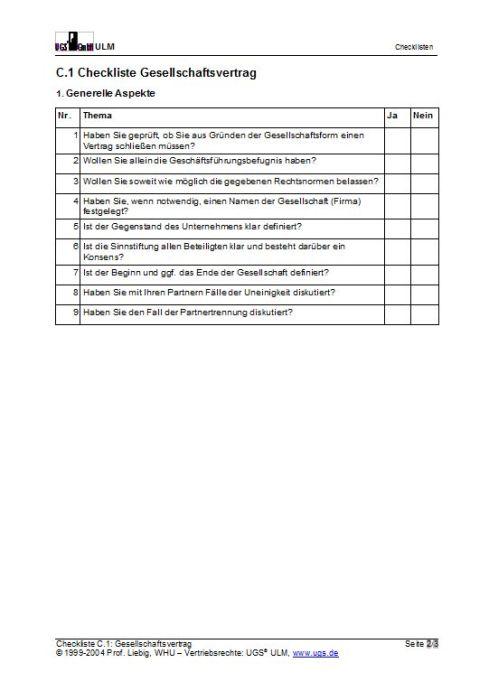 Vorteilspaket Checklisten - Verträge