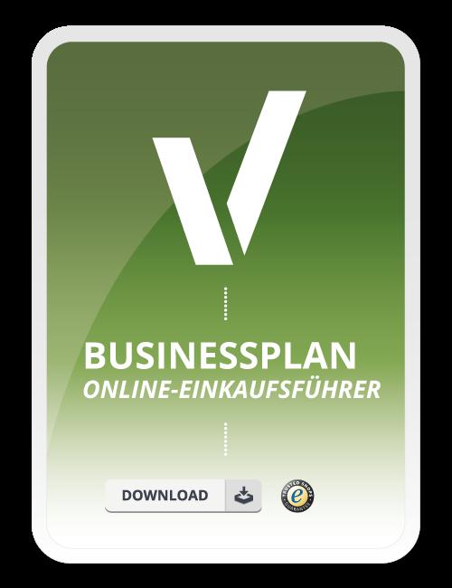 Businessplan - Online-Einkaufsführer