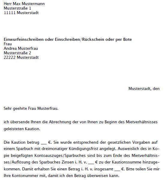 Anzeige Vermieterwechsel Musterbrief Zum Download