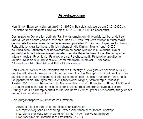 Arbeitszeugnis Muster Vorlagen Schweiz Kostenlos Downloaden 12