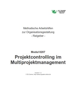 Projektcontrolling im Multiprojektmanagement