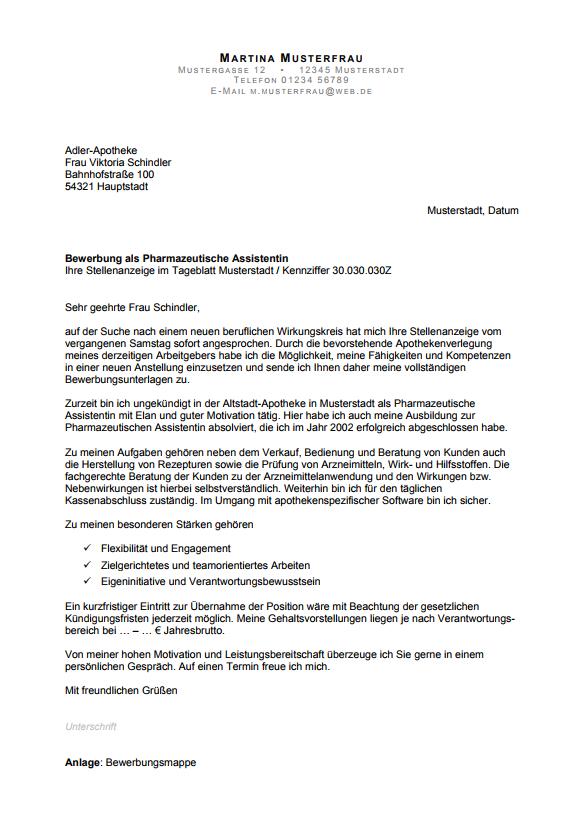 Bewerbungsschreiben Professionelle Vorlagen Muster 2020 8