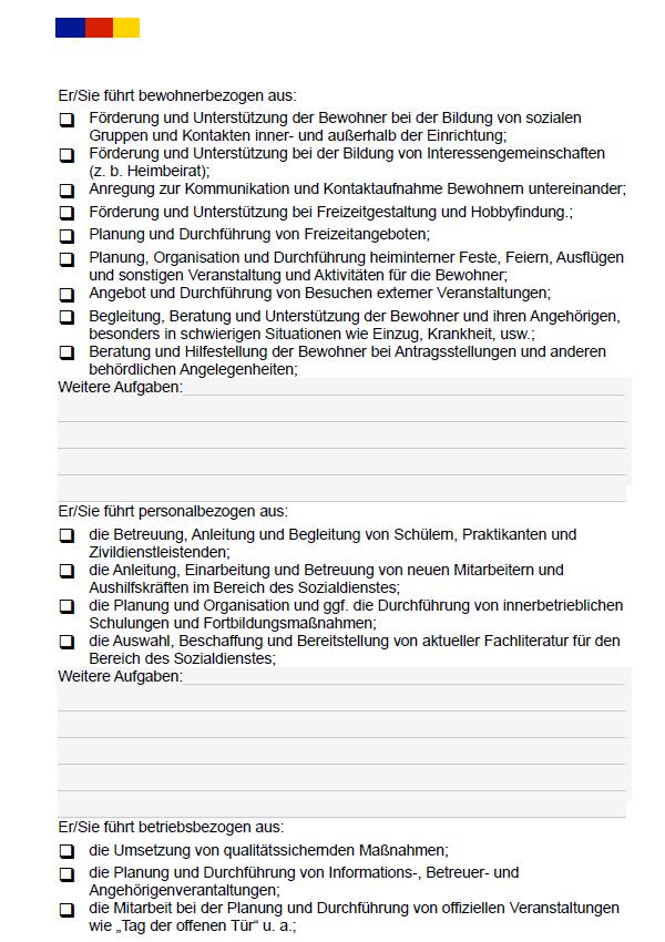 Stellenbeschreibung Sozialpadagoge In Zum Download