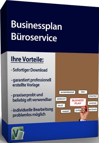 Businessplan - Büroservice