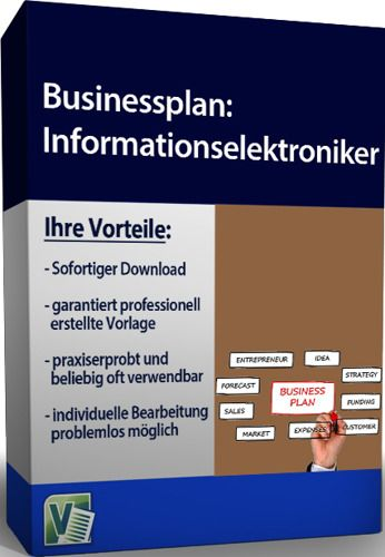 Businessplan - Informationselektroniker