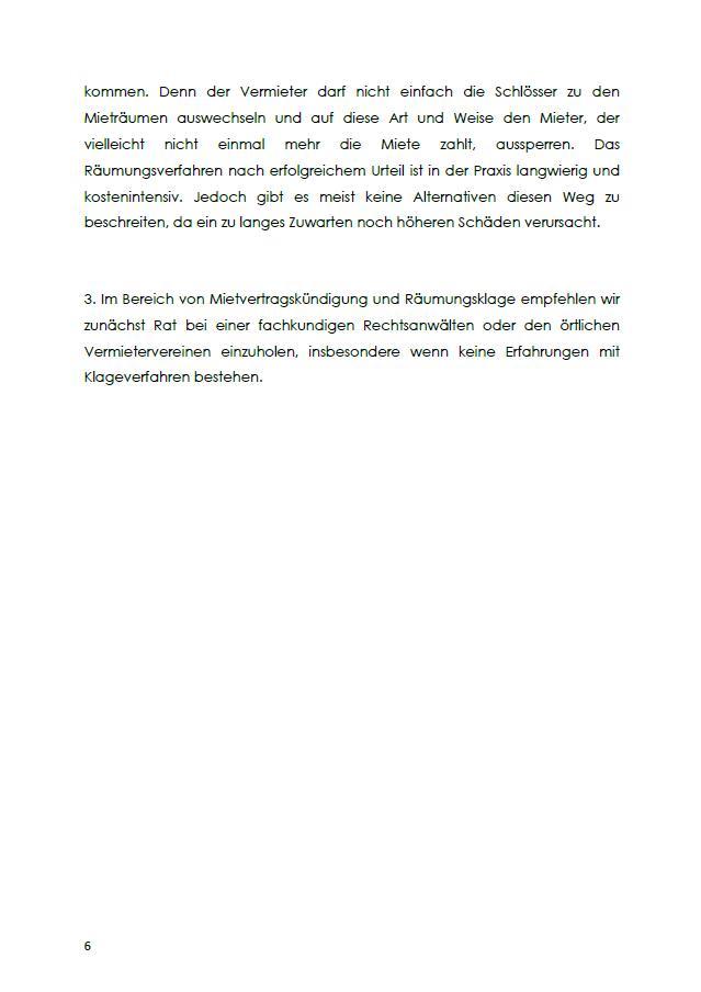 Ausserordentliche Kundigung Mietvertrag Jobruf 9