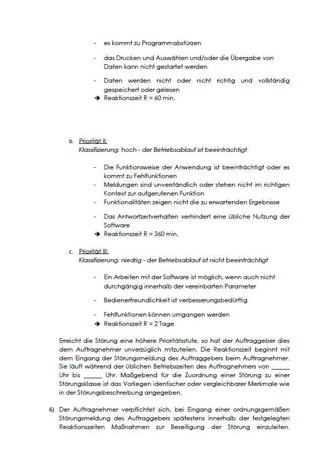 Muster Wartungsvertrag Fur Gasheizungsanlagen 1