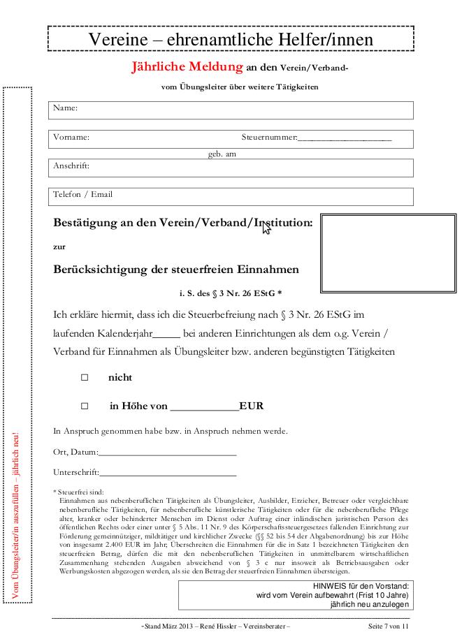 Entlohnung Ehrenamtlicher Mitarbeiter Vertragsvorlagen Zum Download